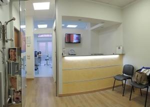 reception studio medico